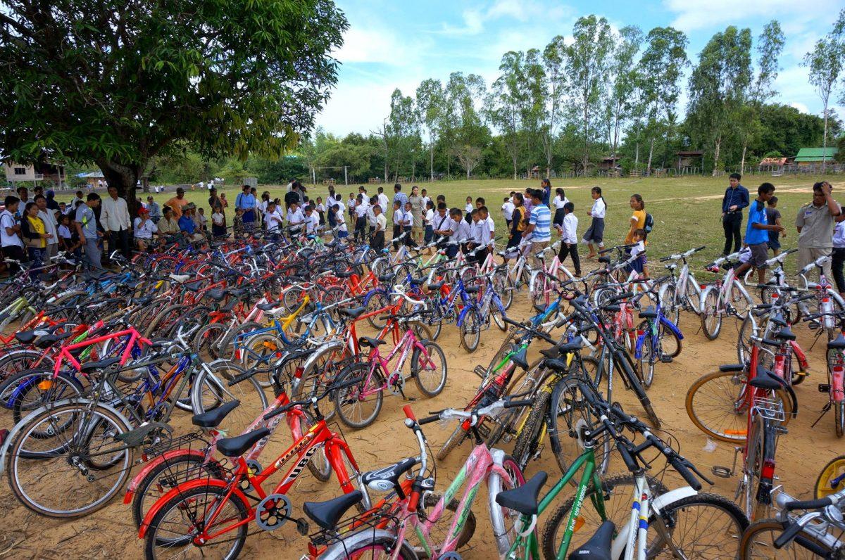 200 vélos aux Philippines avec «Cycles & Solidarité» et «Gawad Kaliga»