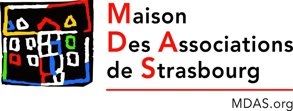 Logo MDAS Maison des Associations de Strasbourg