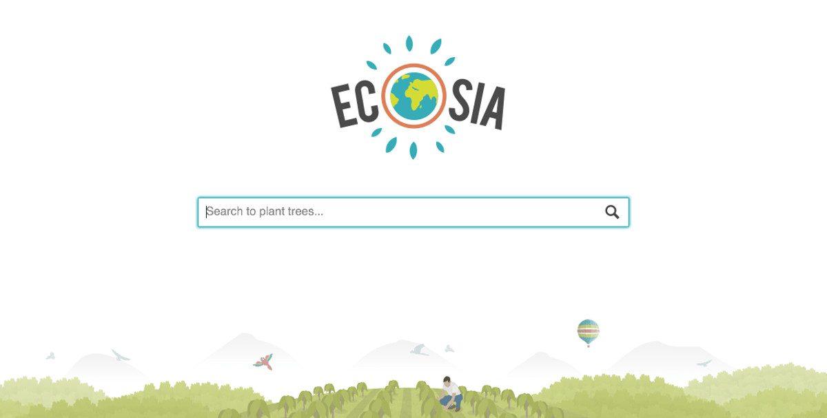 Ecosia, le moteur de recherche qui plante des arbres