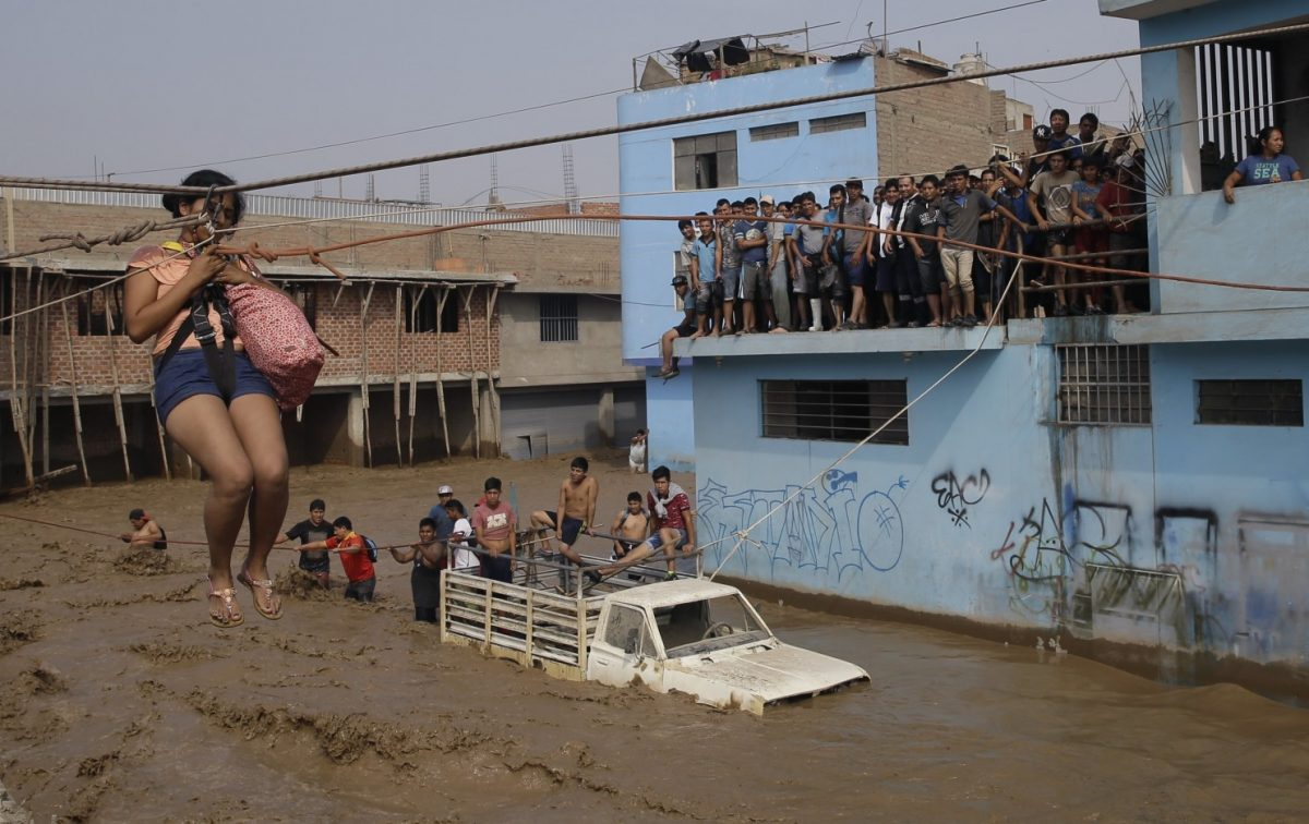 inondation Pérou 2017