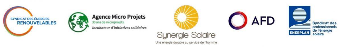 Syndicat des énergies renouvelables. Agende Micro Projets. Synergie Solaire. AFD. Syndicat des professionels de l'énergie solaire