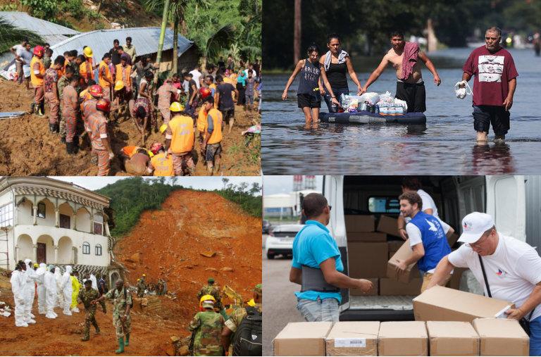 Appels aux dons pour venir en aide aux habitants de Saint-Barthélemy et Saint-Martin. Catastrophes naturelles.