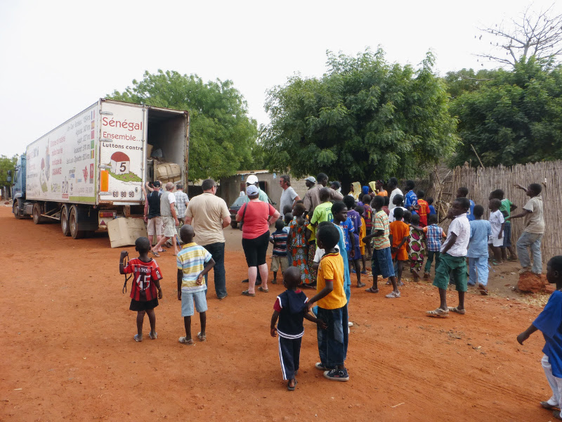 convoi humanitaire senegal