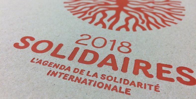 agenda solidaires 2018