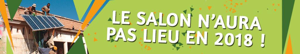 Salon des Solidarités 2018 annulé