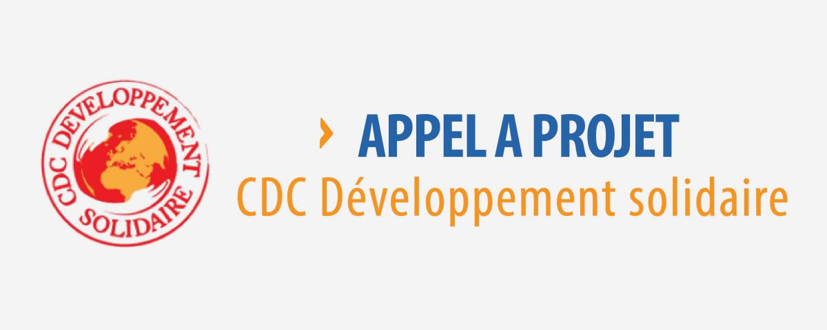 cdc appel projets