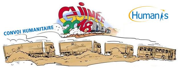 Grand départ du Convoi humanitaire Sénégal – Guinée 2018