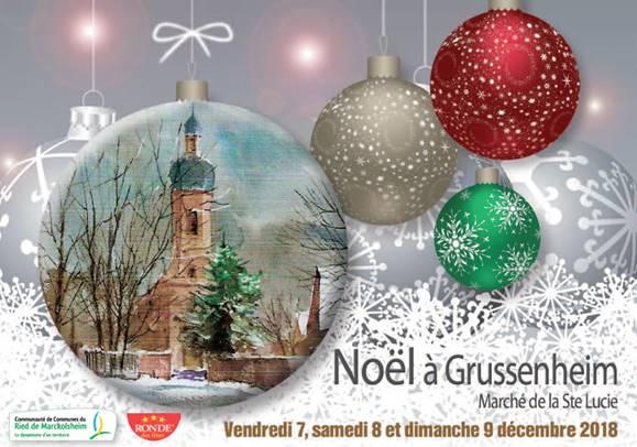 Affiche Noël à Grussenheim