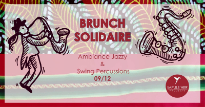 Affiche du brunch solidaire de lifetime projects