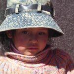 Vente d'artisanat bolivien