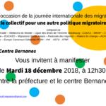 Flyer Journée internationale des migrants