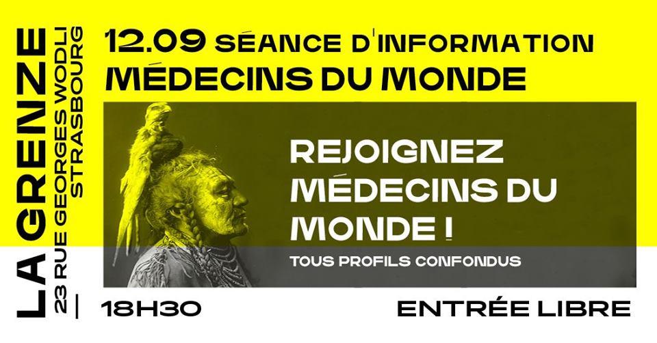 Séance d'information Médecins du Monde