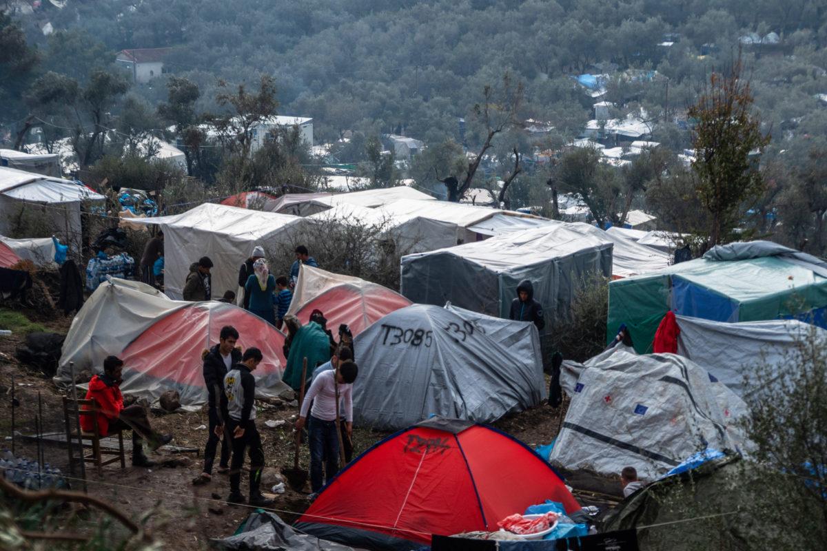 camps grèce