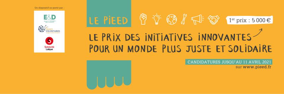 [Engagés et déterminés, France volontaires et Solidarité laïque] Le Prix des Initiatives Innovantes pour un Monde plus Juste et Solidaire