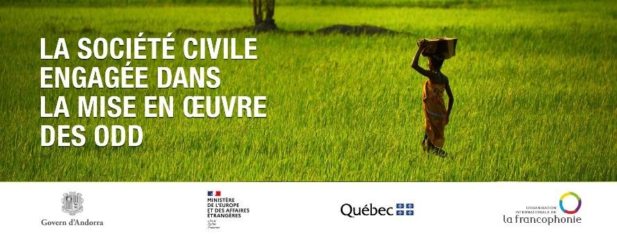 [OIF & Ministère de l'Europe et des Affaires étrangères] La société civile francophone engagée pour les Objectifs de Développement Durable