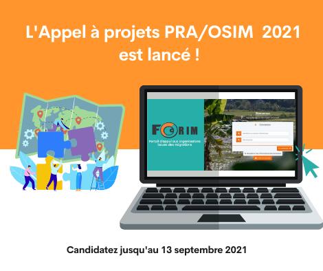 [FORIM-AFD] Programme d'appui aux Projets des organisations de solidarité internationale issues de l'immigration (PRA/OSIM)