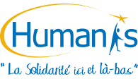 Logo d'HUMANIS, collectif d'associations de solidarité internationale